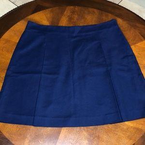 Lauren Ralph Lauren Pleated Navy Skirt Size 14 NWT